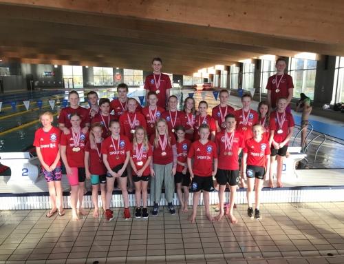 Topmotiverede SSK svømmere dominerer i Herning