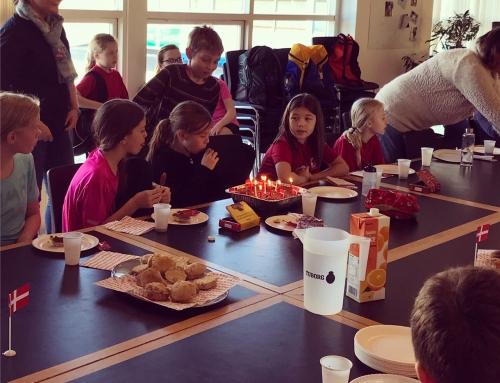 Lørdagstræning med fuld gas og fødselsdagsfest!