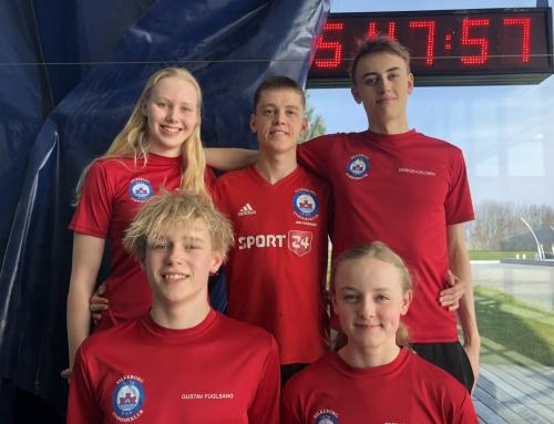 Topresultater til Danish Open – 2 klubrekorder på 1. dagen
