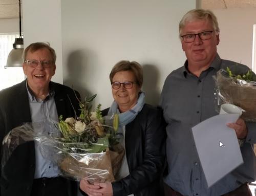 Dansk Svømmeunions æresbevis til Stig Bock