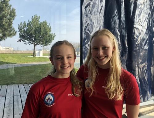 2 B-finaler til Helena ved Senior DM, 9. plads til Emilie ved NM