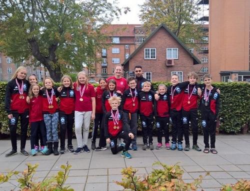 20 individuelle medaljer høstet til Midt Øst Cup!