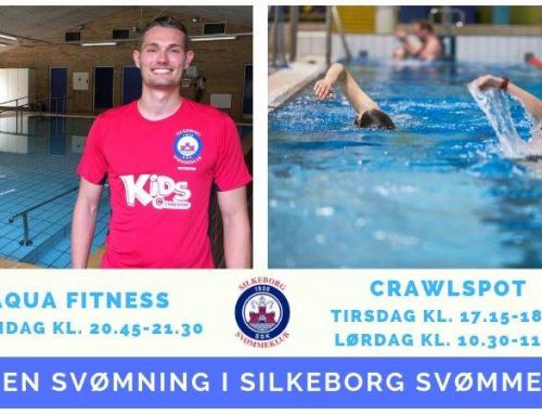 Voksne – kom gratis i svømmehallen i uge 36