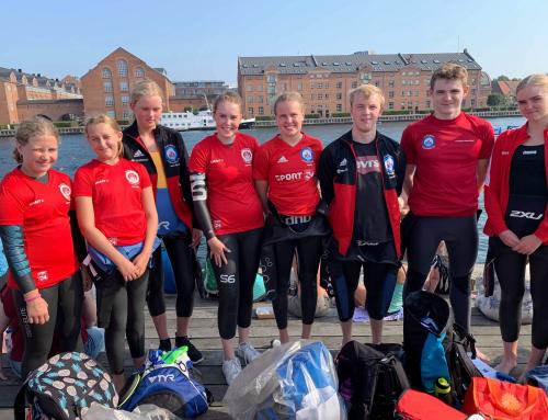 Silkeborg Svømmeklubs X-Treme svømmere med til at sætte rekord