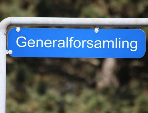 Ekstraordinær generalforsamling den 16. juni 2020, kl. 18.30